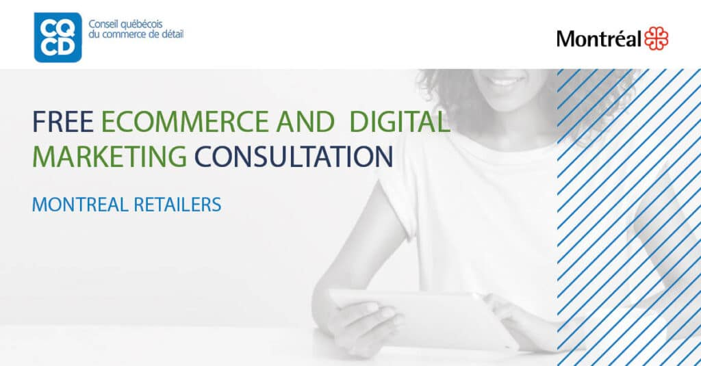 banner of the ecommerce and digital marketing consultation service